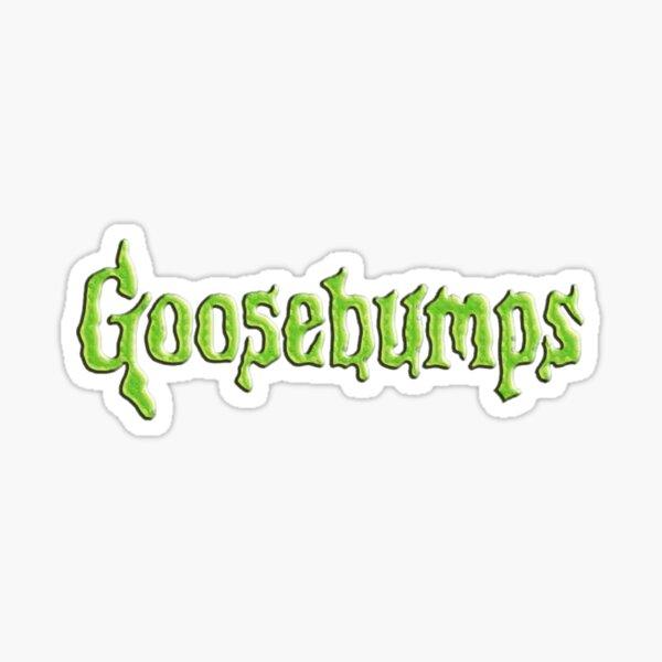 goosebumps logo Sticker