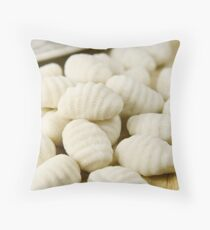 Raw gnocchi Throw Pillow