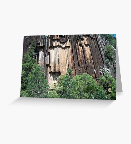 Sawn Rocks (Mt Kaputar National Park, Northwest NSW) Greeting Card
