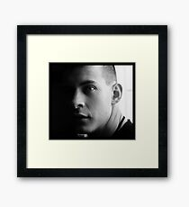 Justin.  Framed Print