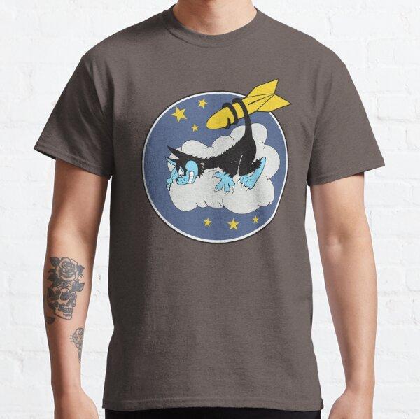VP-24 Black Cat Squadron - Clean Style Classic T-Shirt