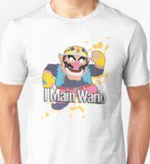 I Main Wario - Super Smash Bros. Unisex T-Shirt