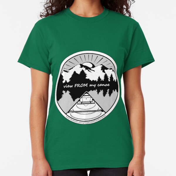 view FROM my canoe facebook group logo Classic T-Shirt