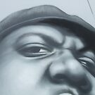Photo of OWEN'S Biggie painting by kre8ted4u