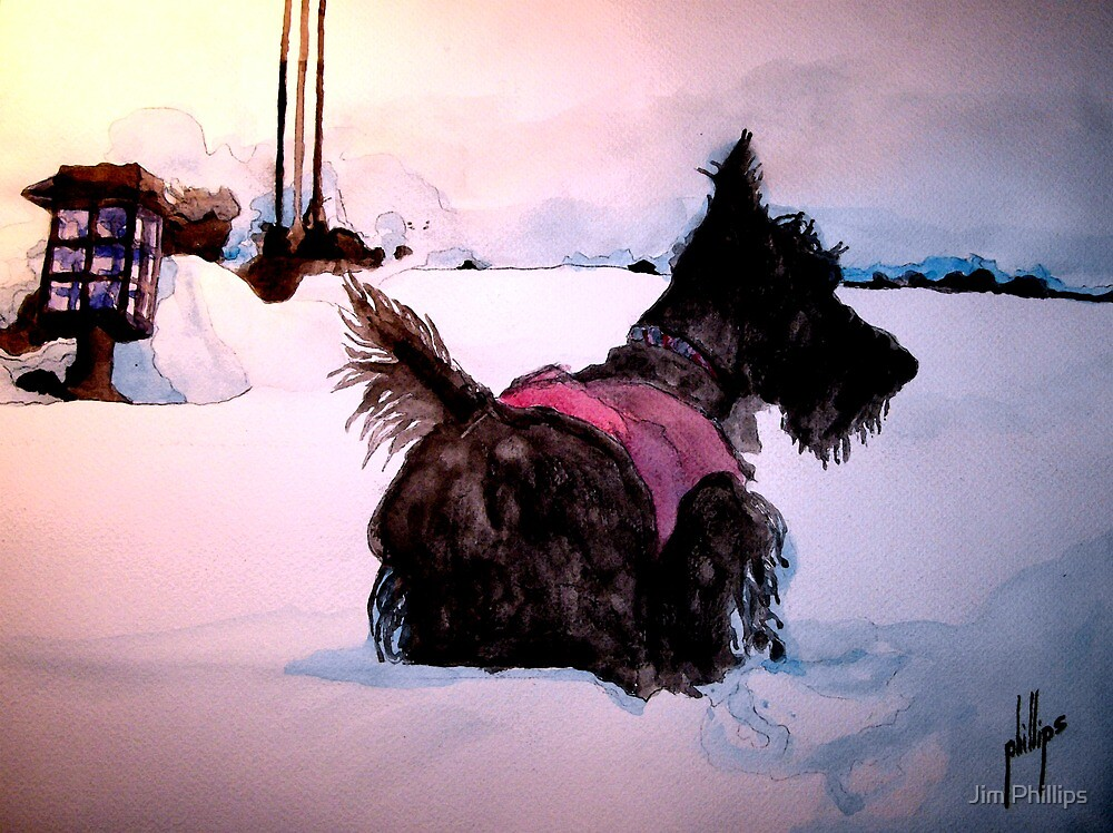 A Snow Adventure by Jim Phillips
