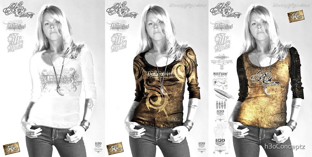 Vintage T-Shirt Concept :: Women Apparel collection :: h3oConceptz.com by h3oConceptz
