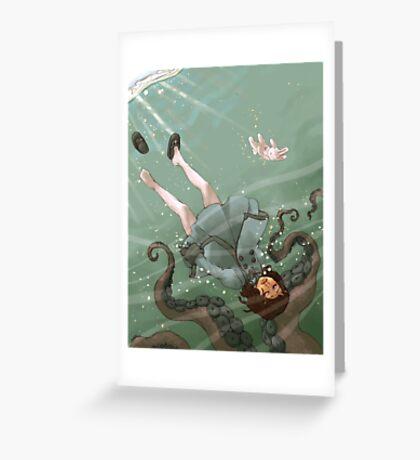 Falling, Drowning Carte de vœux