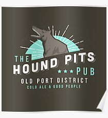 Dishonored - The Hound Pits Pub Poster
