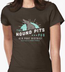 Dishonored - Der Jagdhund Pits Pub Tailliertes T-Shirt für Frauen