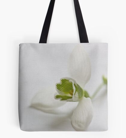 The snowdrop flower Tote Bag