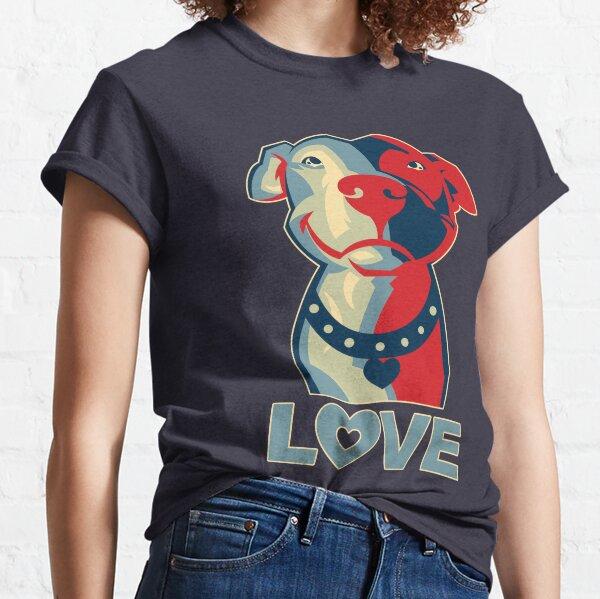 Pitbull - LOVE Classic T-Shirt