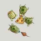 The Ninja Turtles by Katie Corrigan