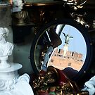 Mirrored St Angel Castle, Rome by Anna Lemos