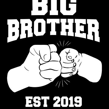Big Brother Est 2019 Promoted to Big Bro Pregnancy Announcement by JapaneseInkArt