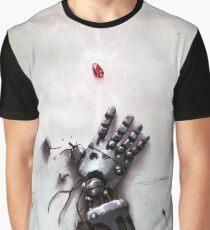 Fullmetal Alchemist Brotherhood - Metall Arm & Stein der Weisen Grafik T-Shirt