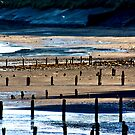 The Shore at Sandsend by Trevor Kersley