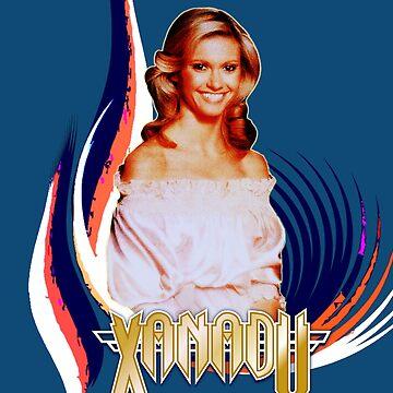 Xanadu Olivia Newton-John von retropopdisco
