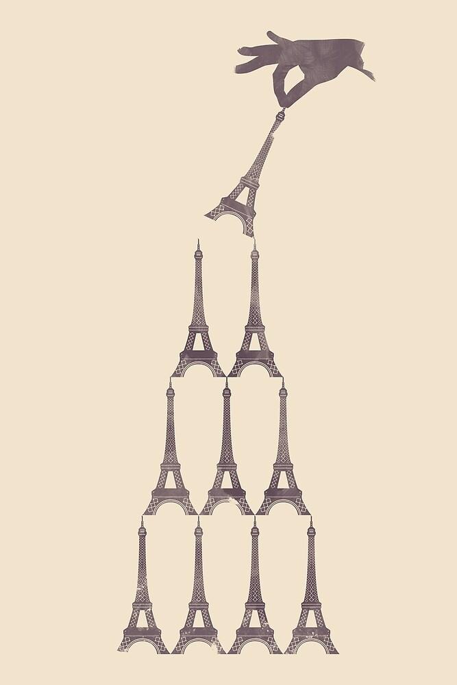 Eiffel Tower Tower by KentZonestar