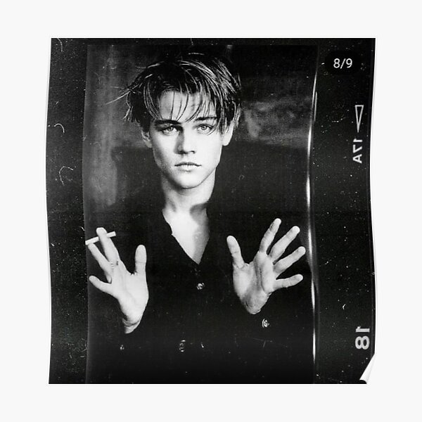 LEO With A Cigarette. Poster