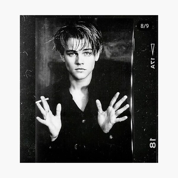 LEO With A Cigarette. Photographic Print
