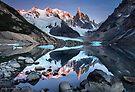 Lago Torre Patagonia by Mieke Boynton