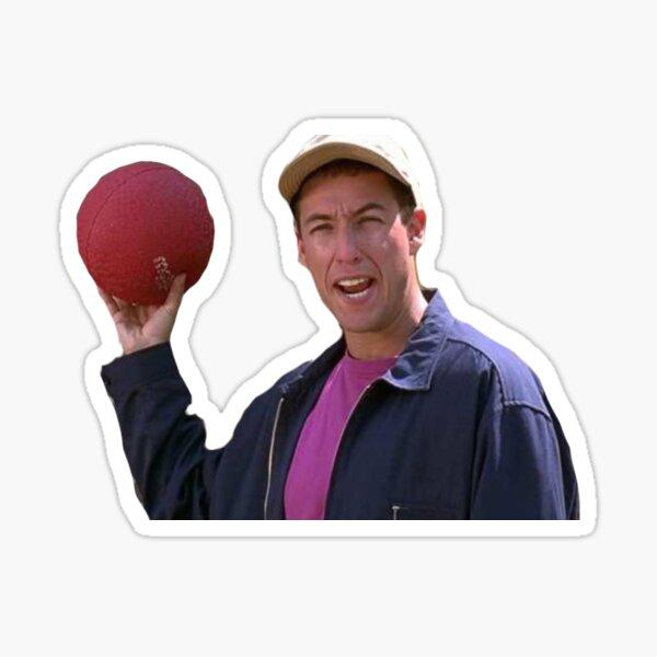 Dodgeball Champ Sticker