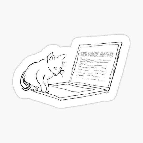 World Domination Kitty Sticker