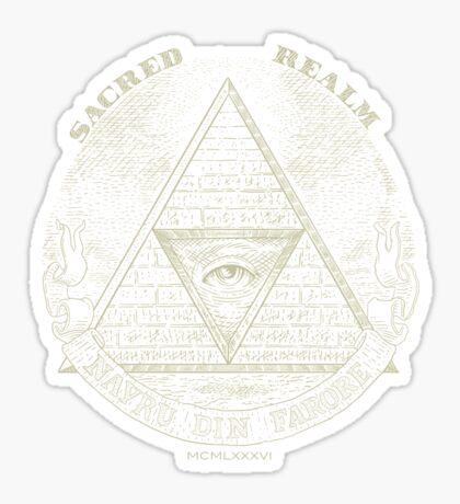 Sacred Realm Sticker