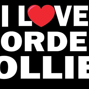 I love Border Collies  by sols