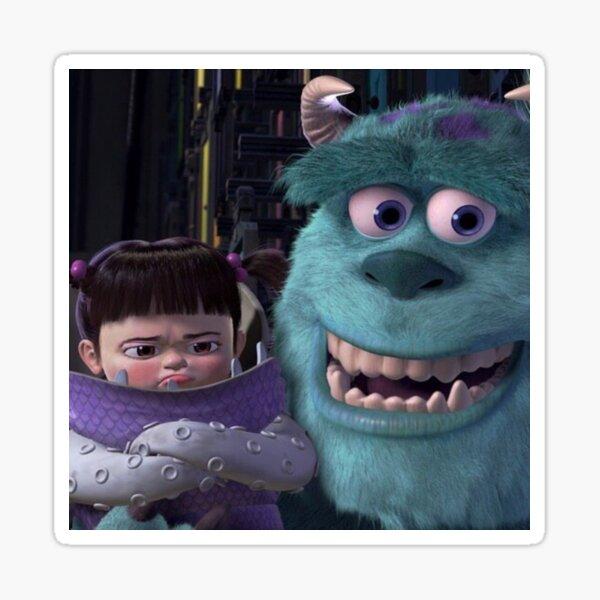 Sulley y Boo Pegatina