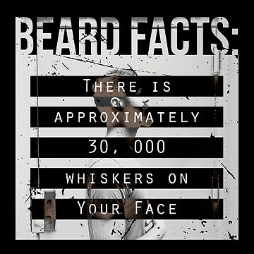 Men, Hair, and Beard Facts (c) by BlueRockDesigns