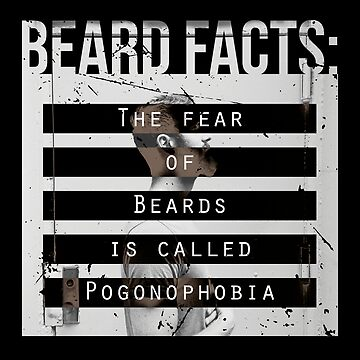 Men, Hair, and Beard Facts (d) by BlueRockDesigns