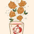 Chick'n Pupcorn  by fluffymafi