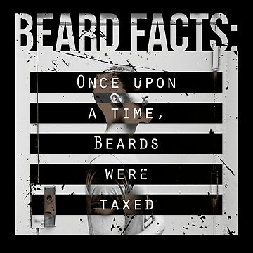 Men, Hair, and Beard Facts (e) by BlueRockDesigns