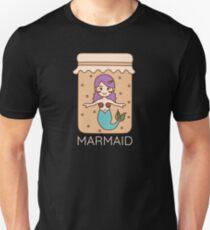 Camiseta unisex Crema Sirena Marmaid