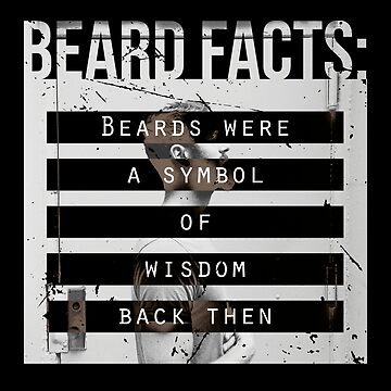 Men, Hair, and Beard Facts (f) by BlueRockDesigns