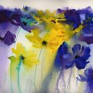 Flowers in the Rain by artbyrachel