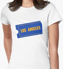 Los Angeles Women's Fitted T-Shirt