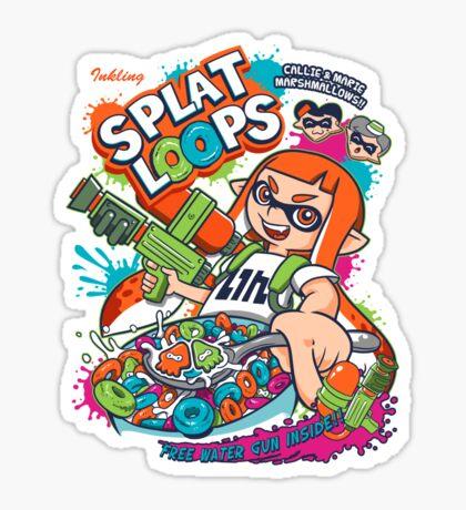 Splat Loops Sticker