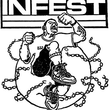 Infest - american hardcore punk by tomastich85