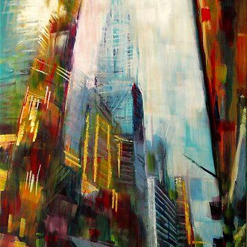 Chrysler building,New york Skyline by SamDurkin