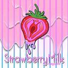 Strawberry Milk Magazine Logo- Strawberry by Aspektphoto