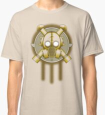 Art Deco Gasmask Trinity Classic T-Shirt