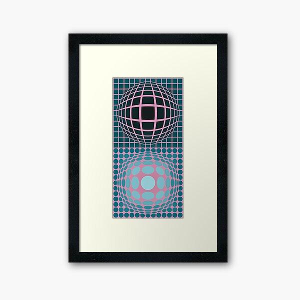 Vasarely Museum # 5 Framed Art Print