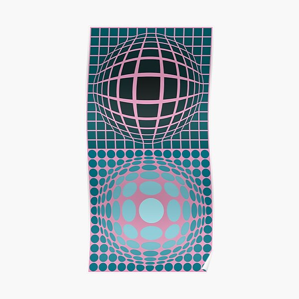 Vasarely Museum # 5 Poster