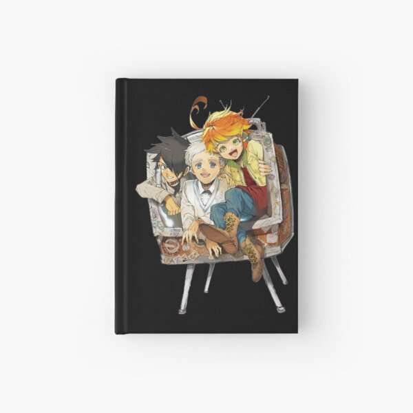 The promised neverland Emma,Norman & Ray Hardcover Journal