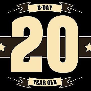 B-day 20 (Cream&Choco) by ipiapacs