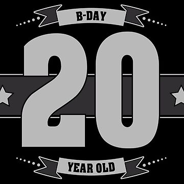 B-day 20 (Light&Darkgrey) by ipiapacs