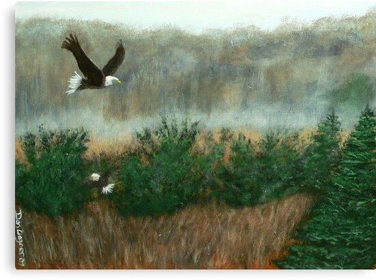 Prarie du sac eagle by Dan Wagner