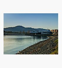 Boats On The Shore Photographic Print